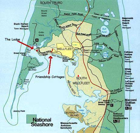Great Island Wellfleet Map